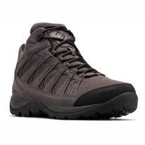 Wandelschoen Columbia Men Redmond V2 Ltr Mid WP Dark Grey